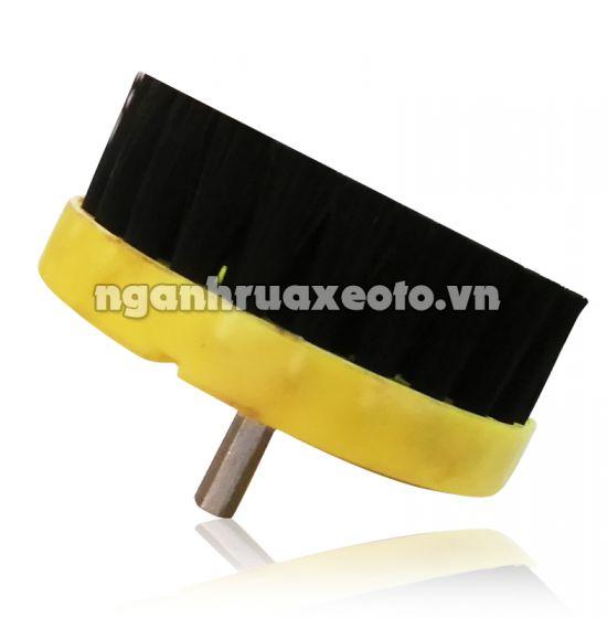 Bàn chải chà nội thất (gắn vào Máy mài)