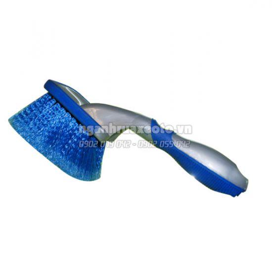 Bàn chải chà lốp (có cán)