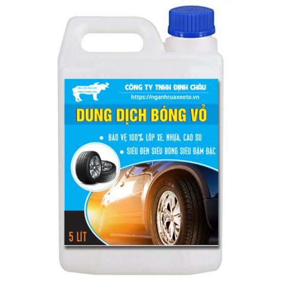 Dung dịch bóng vỏ lốp ô tô