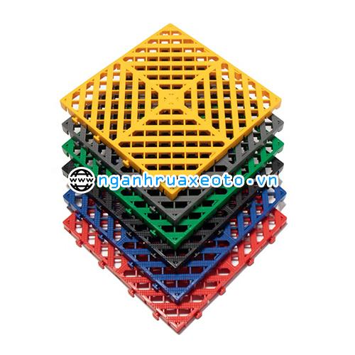 Tấm Lót Sàn Nhựa PP Chịu Lực Rửa Xe Ô Tô 3cm