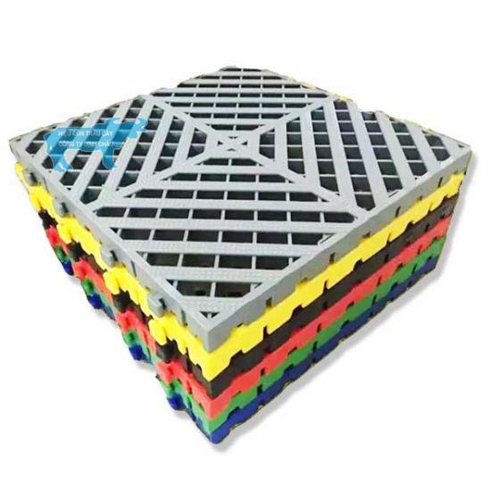 Tấm Lót Sàn Nhựa PP Chịu Lực Rửa Xe Ô Tô 3D