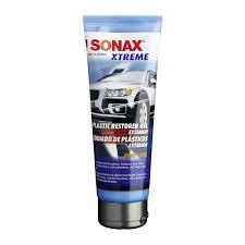 Sonax gel phục hồi nhựa đen
